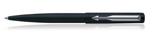 Ball Pen Matte - BEST PRICE Parker Vector Matte Black Chrome Accents Ball Pen