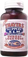 Thayers Slippery Elm Lozenges Tangerine - 150 - Cherry Slippery Elm