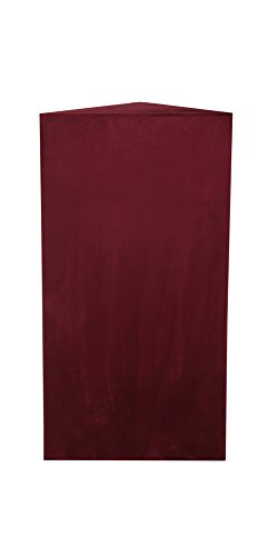 ATS Acoustics Bass Trap 24x48x13 Inches, Low-Range in Wine Microsuede by ATS Acoustics