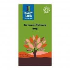 Crazy Jack Organic - Ground Nutmeg - 50g