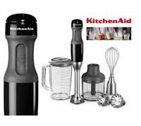 Kitchen Aid Artisan 5KHB2571 Hand Blender Onyx Black - 220 Volts Only! Will Not Work In The USA