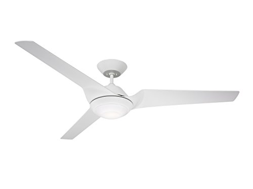 Emerson CF275SW 60-inch Modern Sweep Eco Ceiling Fan, 3-Blade Ceiling Fan with LED Lighting and 6-Speed Wall Control
