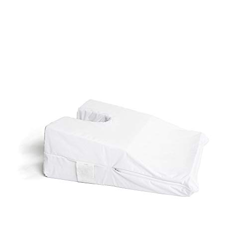 (Hermell Products Inc. Hermell Face Down Pillow, Small, White)