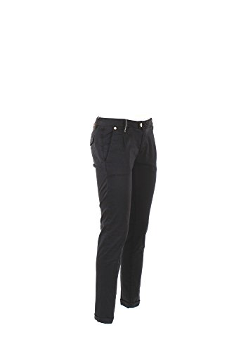 Pantalone Donna Yes-zee 34 Blu P355 Wb00 Primavera Estate 2017