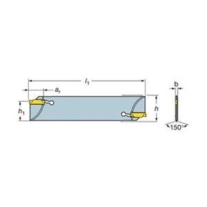 Sandvik Coromant 151.2-3232-45 Steel Tool Block for Blade...