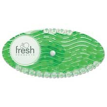 Fresh Products Curve Air Freshener, Cucumber Melon, Green, 10/Box by Fresh Products