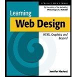 Learning Web Design - HTML, Graphics, & Beyond (01) by Niederst, Jennifer [Paperback (2001)] PDF