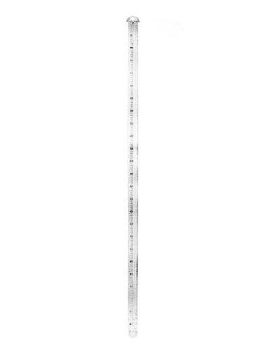 Gaebel Printers Line Gauges 24 - Ruler Pica