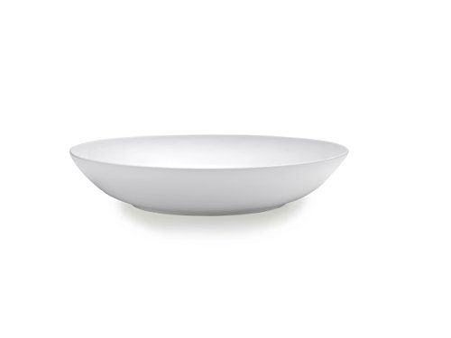 - Mikasa Delray Bone China Round Pasta Serving Bowl, 13-Inch