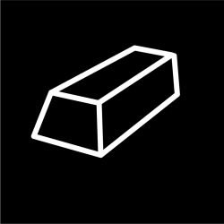 Sasa Demarle Flexipan - Mini Cakes 1.8'' x 3.5'' (46 x 89 mm) - 18'' x 26'' (400 x 600 mm) - 25 indents