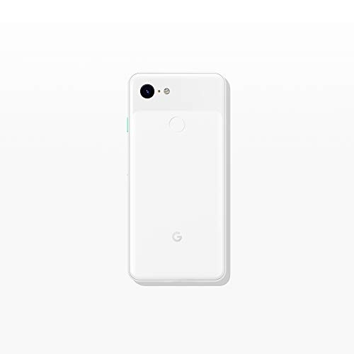 Google - Pixel 3 with 128GB Memory Cell Phone (Unlocked) - Clearly White