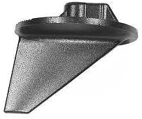 Mercruiser Merc Alpha One Outdrive Lower Trim Tab Fin Zinc Anode 31640 Mil-Spec USA