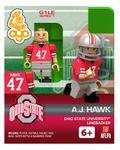 #47 A.J. Hawk Ohio State University Buckeyes Linebacker Limited Edition OYO minifigure