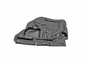 (BMW e46 Sedan Door Panel Insulation pad RT Rear right rh passenger back sound)