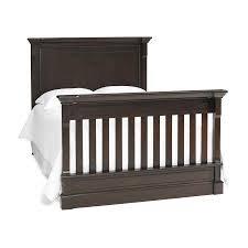 Dolce Babi Roma Crib Full Size Conversion Kit Bed Rails in Dark Roast