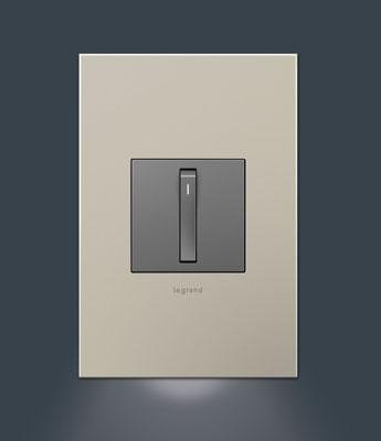 adorne 1-Gang Wall Plate Accent (Accent Night Light)
