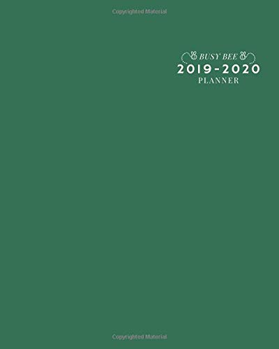 Uf 2020 18 Calendar 2019 2020: 18 Month Weekly and Monthly Planner/Calendar for