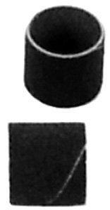 Abrasive Band (1'' Dia. x 1''L., 40 Grit)