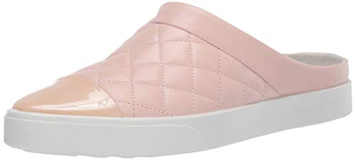 ECCO Women's Gillian Quilted Slide Mule Rose dust, 41 M EU (10-10.5 US)