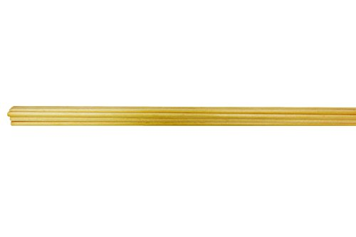 Rose City Archery Port Orford Cedar Bare Wood Shafts (12-Pack), 1/4-Inch Diameter/24 1/2-Inch Length