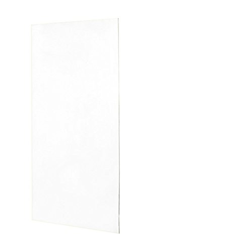 Swanstone SS0367201.010 Solid Surface Glue-Up 1-piece Shower Wall Panel, 0.25-in L X 36-in H X 72-in H, White