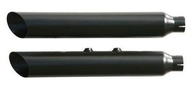 Rush Racing Products Baloney Cut Slip On Mufflers for 2009-2013 Harley Davidson Sportster model - -