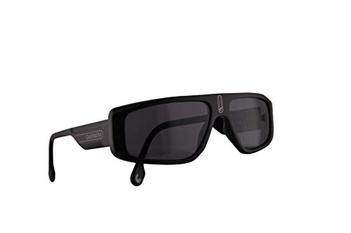 Carrera 1022/S Sunglasses Matte Black w/Removable Strap & Grey Lens 58mm 0032K CA1022/S ()