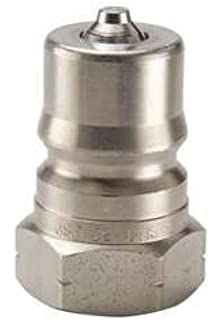 Parker H2-62 Valved Hydraulic Quick Connect Coupler 1//4 NPT Female