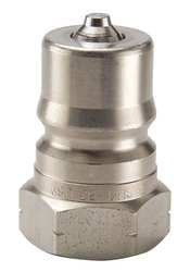 Parker H3-63 Valved Hydraulic Quick Connect Nipple 3//8 NPT Female