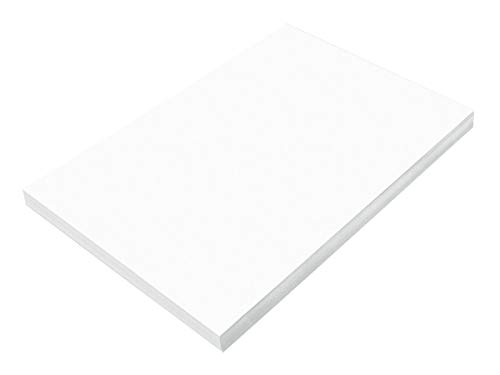 SunWorks Construction Paper, Bright White,  12