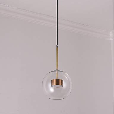 MICHEN Globe Pendant Light Downlight Electroplated Metal Glass Mini Style 110-120V / 220-240V LED Light Source Included/LED Integrated/SAA / FCC/VDE