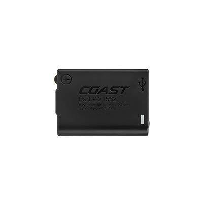 Coast FL Lithium-Ion Rechargeable Battery Pack for FL60R, FL75R & FL85R LED Headlamps