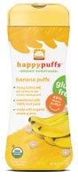 Happy Baby Organic Puffs Banana - 2.1 oz