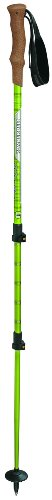 Komperdell Ridgehiker Cork Power Lock Trekking Pole, Lime, Outdoor Stuffs