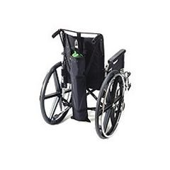 - Wheelchair Single Oxygen Tank Carrier