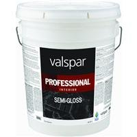 - Valspar Paint GIDDS-134053 Interior High Hide Latex Paint White Semi Gloss, Gallon - 134053