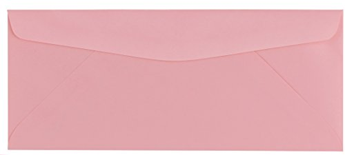 50 Color Pink #10 Business Envelopes, 9.5