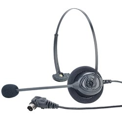 (HME HS16 Single Muff Lightweight Headset for DX Series)
