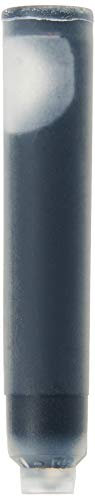 ACME Studios Fountain Pen Cartridges - Black Ink - Set of 6 (PREFCARTBK)
