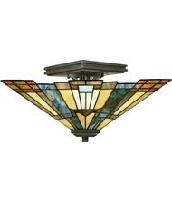 Inglenook 2 Light (2 Light Semi-Flush Mount)