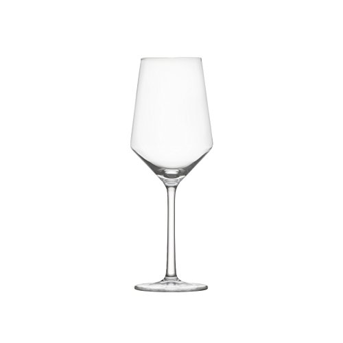 (Schott Zwiesel Tritan Crystal Glass Pure Stemware Collection Sauvignon Blanc/Rose/Tasting, White Wine Glass, 13.8-Ounce, Set of 6)