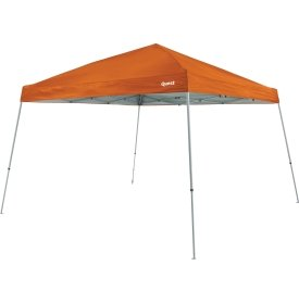 Quest Q64 10 FT. x 10 FT. Slant Leg Instant Up Canopy With Carry Bag Burnt Orange