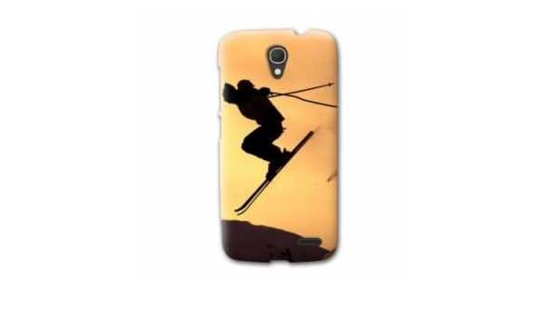 Amazon.com: Case Carcasa Wileyfox Swift Sport Glisse - - ski ...