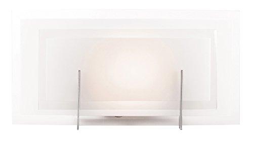 Monument Lighting 617091 Decorative 4 Light Vanity Fixture: Access Lighting 62216-BS/FST Nitrous 1-Light ADA 14.2-inch