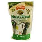 Nylabone Nutri Dent Edible Dental Chew Pouch Large 4ct