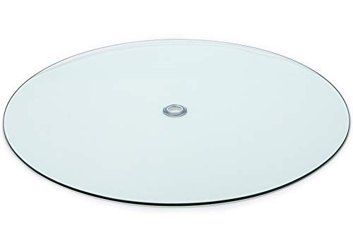 Audio-Visual Direct Tempered Glass Patio Table Top with Rounded Edge (36