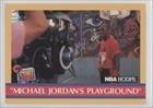 Michael Jordan (Basketball Card) 1990-91 NBA Hoops - [Base] #382