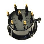 Mercruiser Distributor Cap 175, 185, 4.3 ci 1985-1993 Inboard Ignition CDI E64-0013 Replaces OEM# GLM 71480 / Mallory 9-29410 / Sierra 18-5358 / Volvo Penta 841263