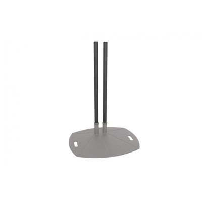Lightweight Dual-Pole Floor Stand with 72