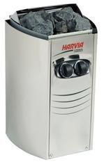 Harvia Saunaofen Vega Compact BC35 mit integrierter Steuerung (Schaltuhr und Thermostat), Ofenleistung 3.5 kW, Saunakabinengröße 2-4.5 m³